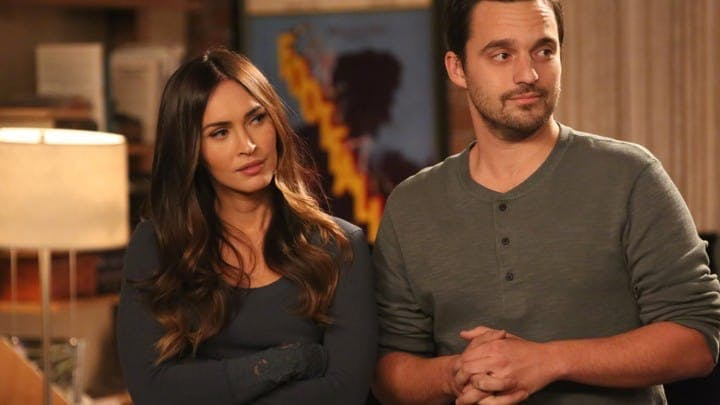 Megan Fox och Jake Johnson i New Girl