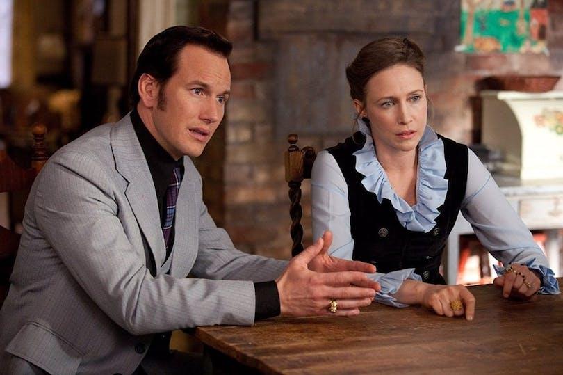 """Patrick Wilson och Vera Farmiga i """"The Conjuring""""."""