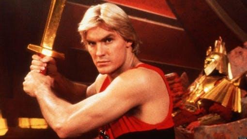 Ny film om Flash Gordon i arbete