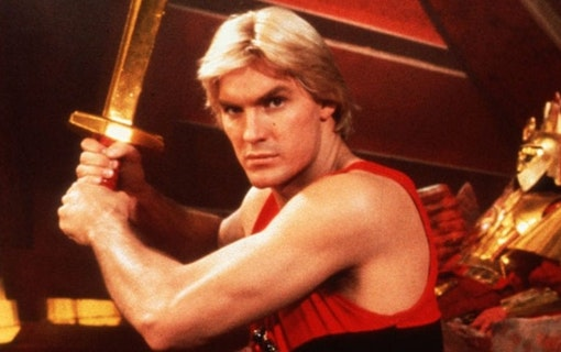 Ny film om Flash Gordon i arbete