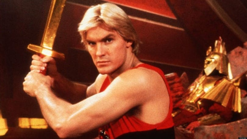 En bild på Flash Gordon