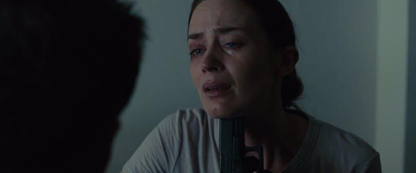 Emily Blunt i Sicario.