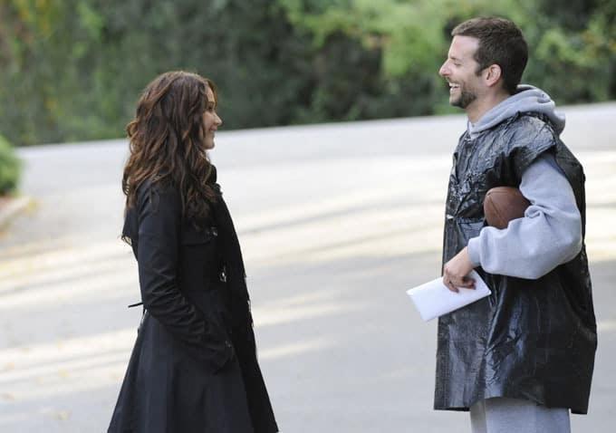 Jennifer Lawrence och Bradley Cooper i Du gör mig galen