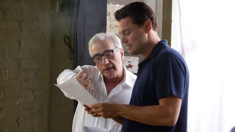 På bilden ser vi Martin Scorsese och Leonardo DiCaprio