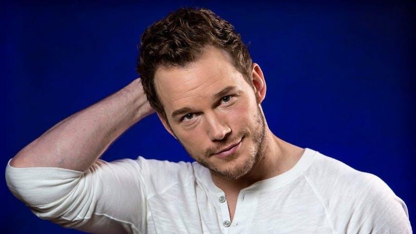 På bilden ser du skådespelaren Chris Pratt