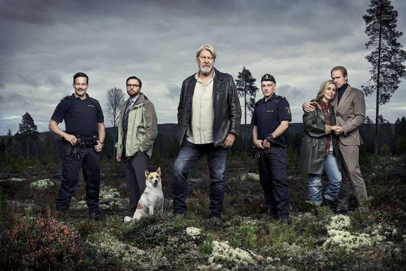 Affischen till Jägarna säsong 1
