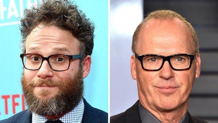 """Seth Rogen och Michael Keaton som ska spela tillsammans i """"King of the Jungle"""""""