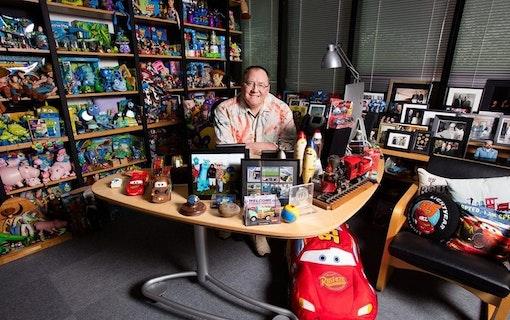 Pixars grundare John Lasseter letar jobb