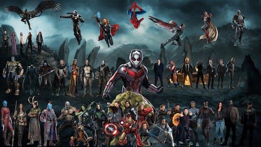 Superhjältar på film