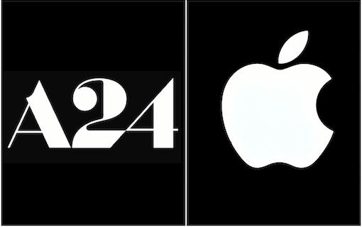 Apple gör film med succébolaget A24
