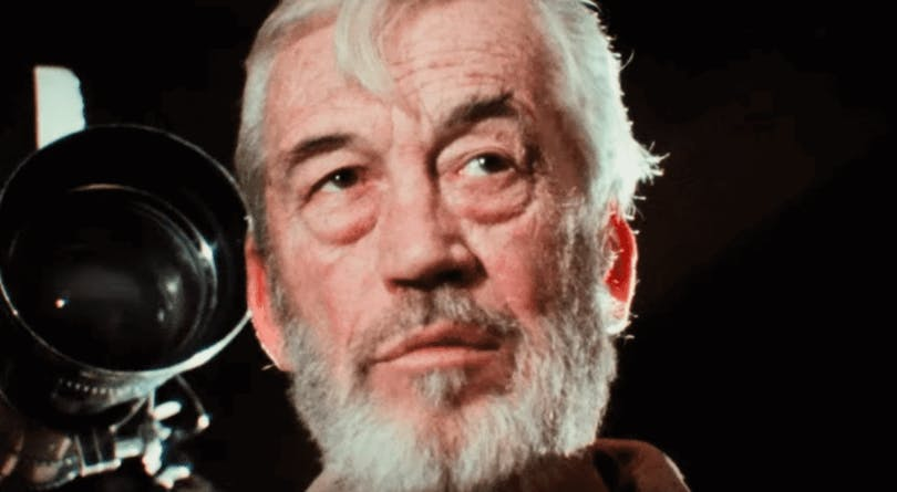 John Huston i The Other Side of the Wind.