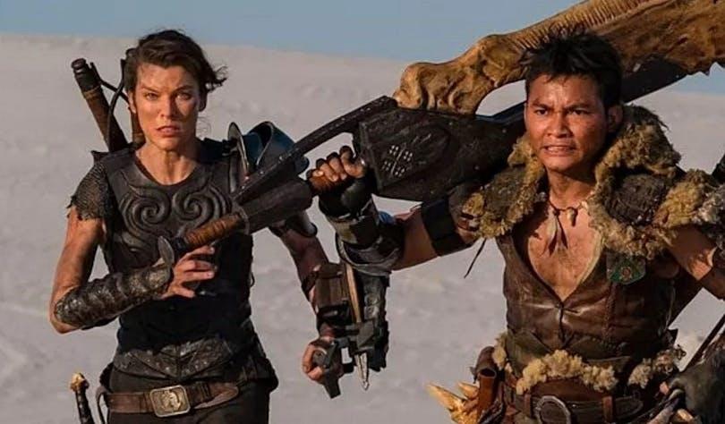 Bild på Milla Jovovich och Tony Jaa