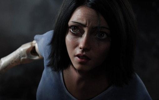 Missa inte bild och trailer till Alita: Battle Angel