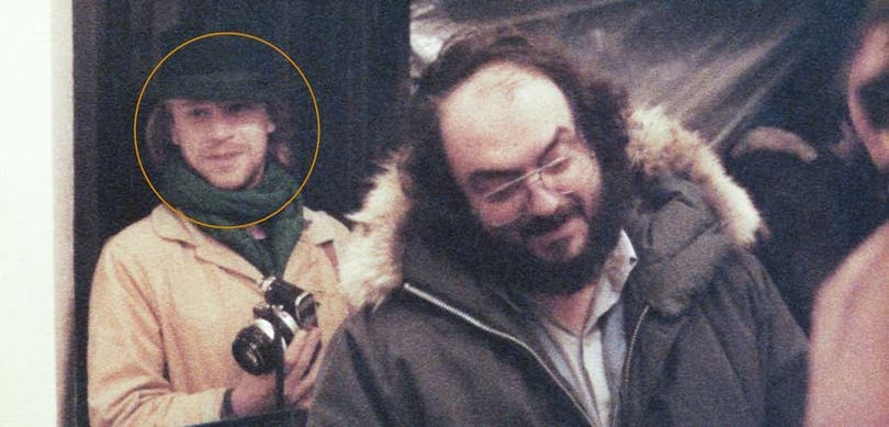 Leon Vitali och Stanley Kubrick.