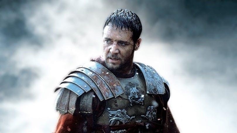 En bild på Russell Crowe som Maximus