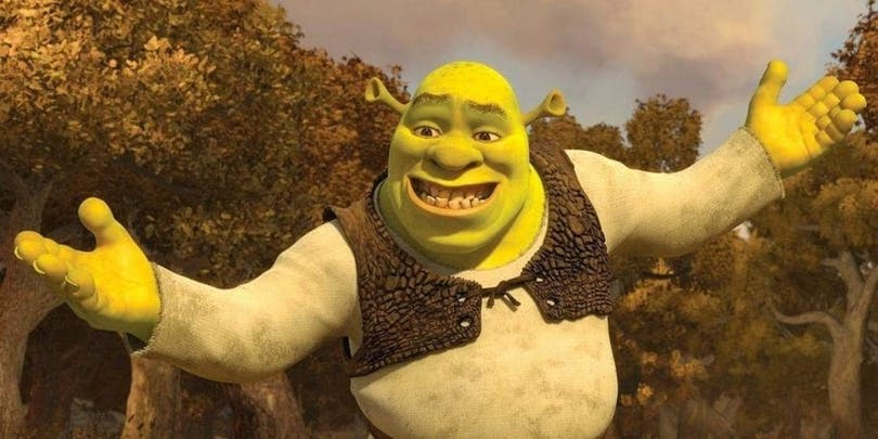 En bild på Shrek