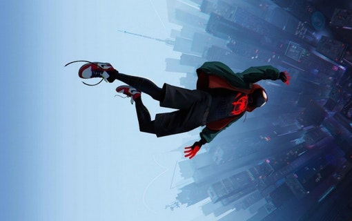 Into the spider-verse.