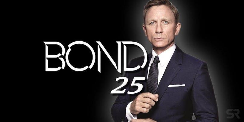 På bilden ser vi Daniel Craig som Bond