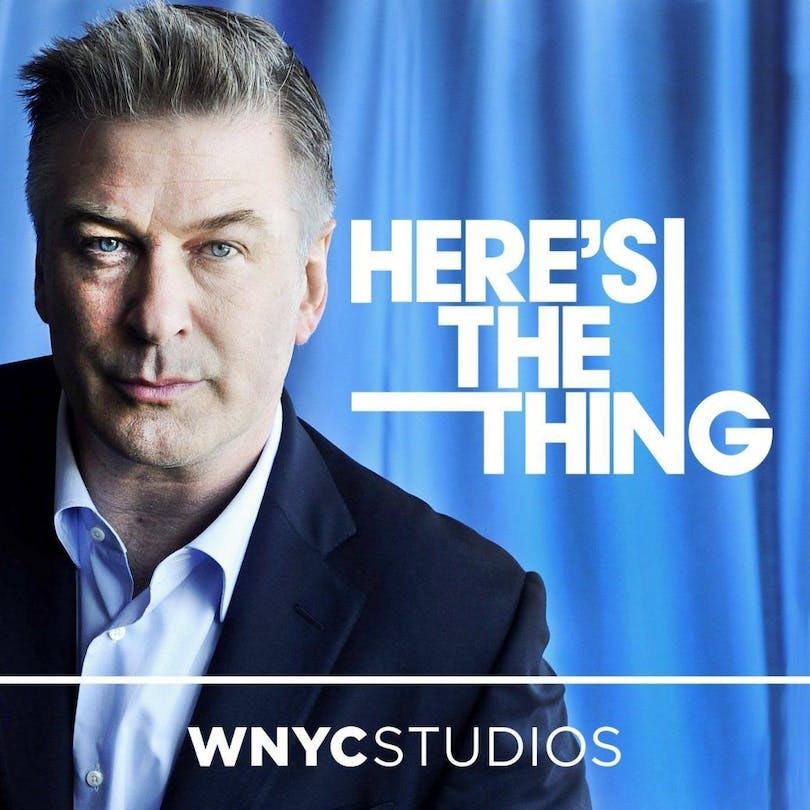 Alec Baldwin i filmpodden Here's The Thing.