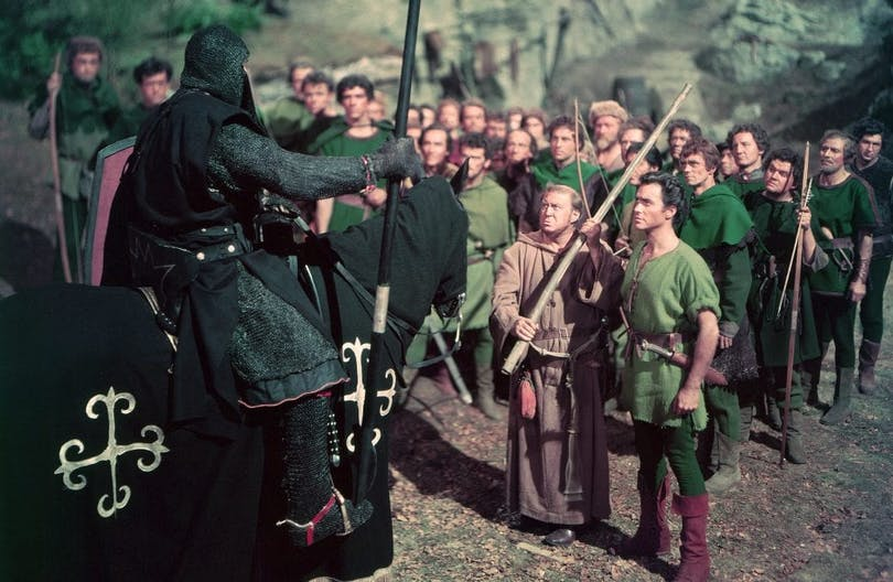 "Richard Tood i ""The Story of Robin Hood and His Merrie Men""."
