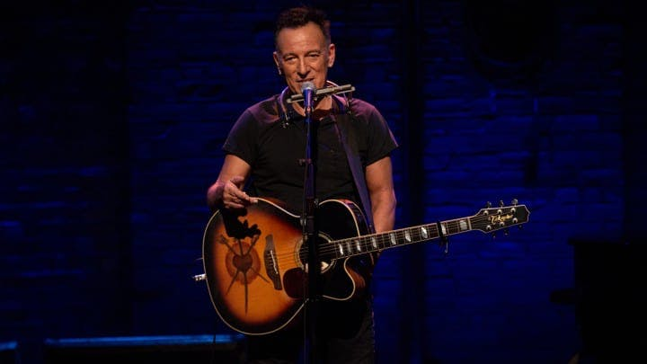 Bruce Springsteen i Springsteen on Broadway