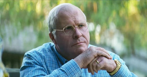 Christian Bale i Vice.