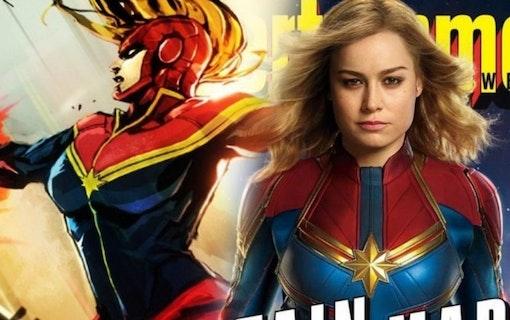 Se den senaste trailern till Captain Marvel