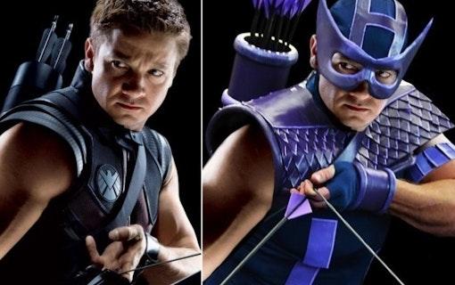 Då kommer serien Hawkeye