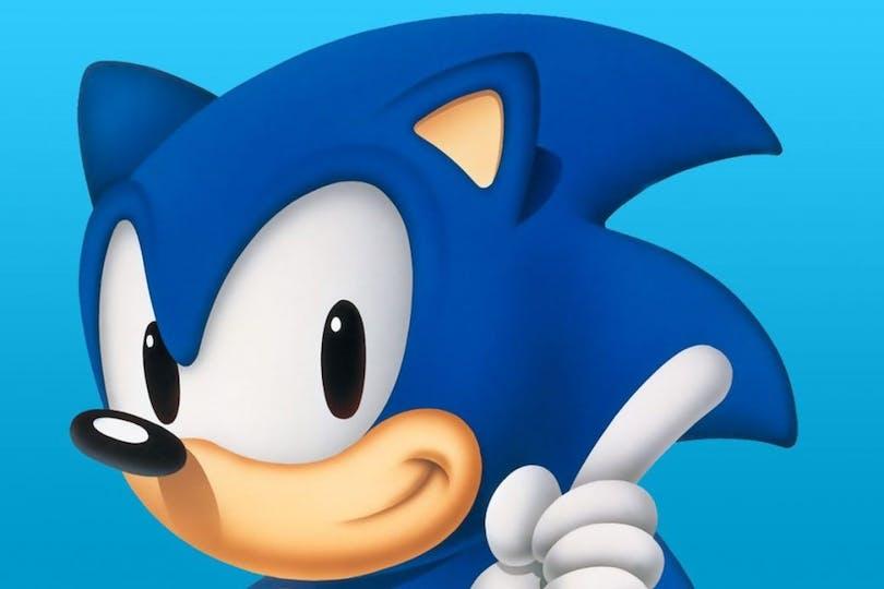 En bild på Sonic