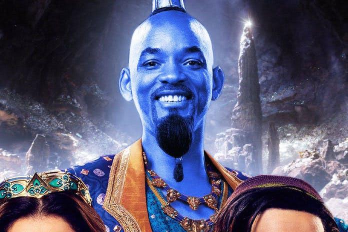 Will Smith som blå ande