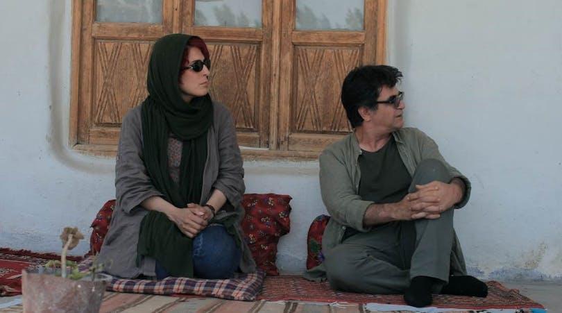Jafar Panahi och Behnaz Jafari i filmen 3 kvinnor.