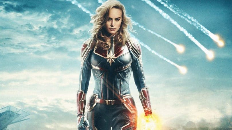Brie Larson som Captain Marvel