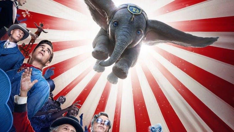 En poster på Dumbo