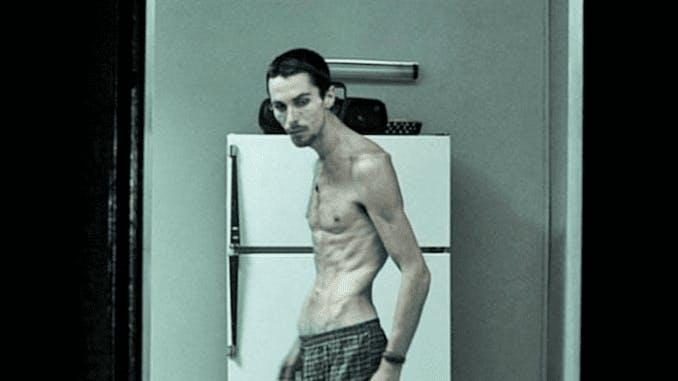 "Christian Bale i ""The Machinist""."