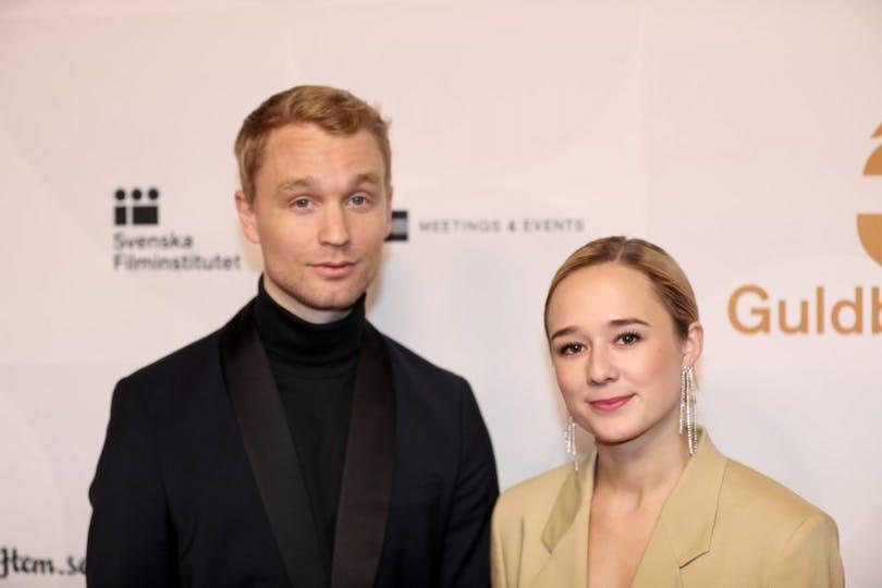 Björn Gustafsson och Alba August.