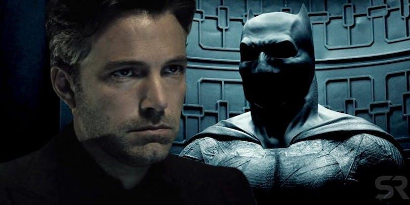 En bild på Ben Affleck som Batman