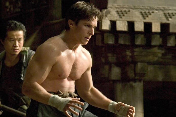 "Christian Bale i ""Batman Begins""."