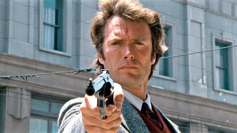 Clint Eastwood i Dirty Harry från 1971.