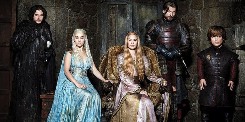 Karaktärerna i Game of Thrones.