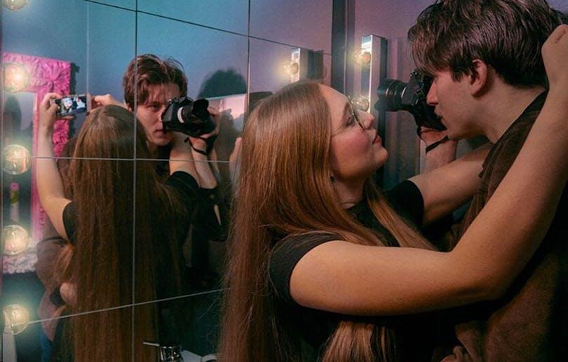 Bild från dokumentärfilmen Parning.