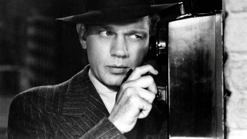 "Joseph Cotten i ""Shadow of A Doubt""."
