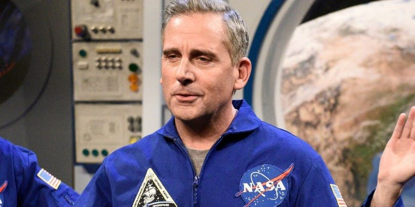 "Steve Carell i ""Space Force""."
