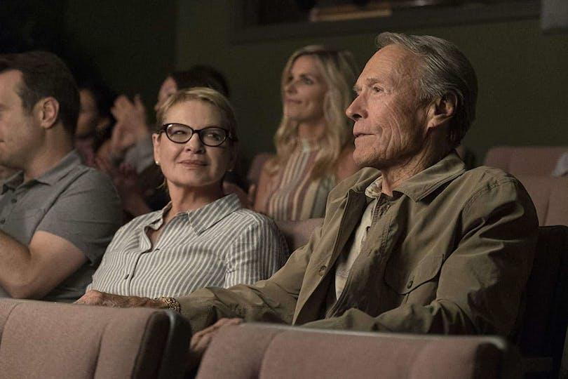 Dianne Wiest och Clint Eastwood i The Mule.