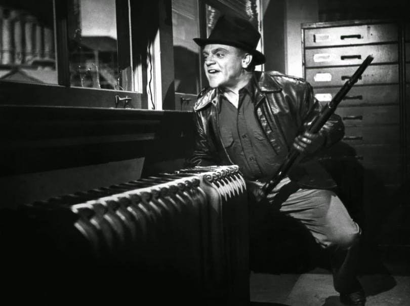 "James Cagney i ""White Heat""."