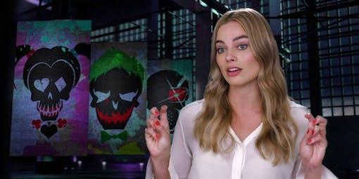 Bild och klipp på Margot Robbie som Harley Quinn