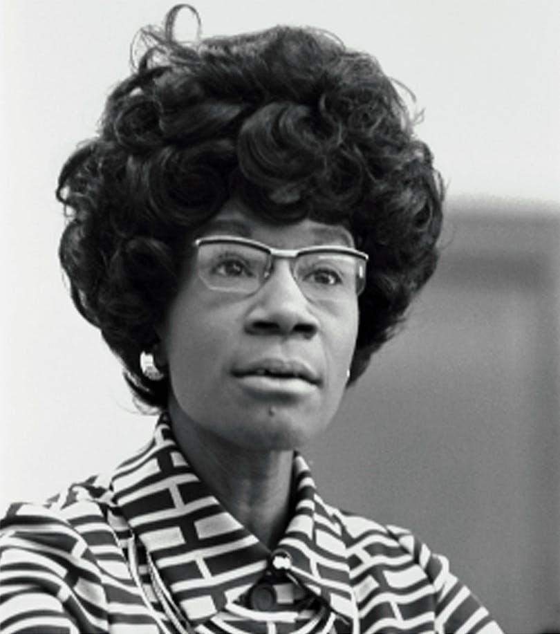 En bild på Shirley Chisholm