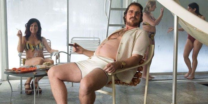 """Christian Bale i """"American Hustle""""."""