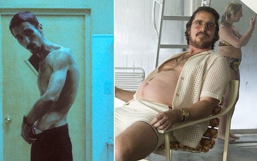 Christian Bales beundransvärda kroppsförvandlingar