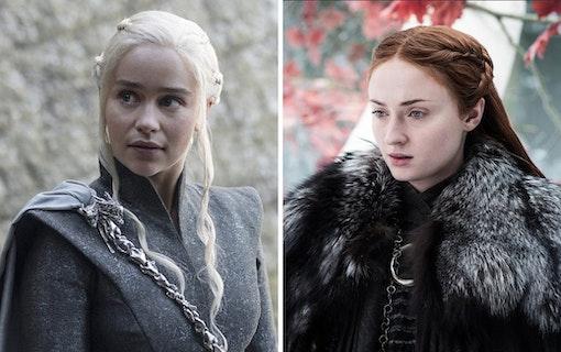 Första bilderna från sista säsongen av Game of Thrones