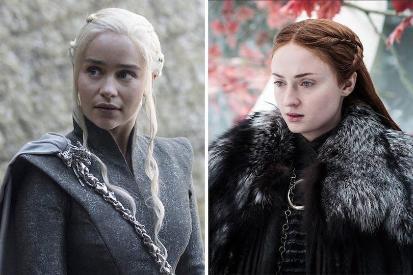 Danerys Targaryen och Lady Sansa.